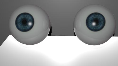 Realistic eyes preview image