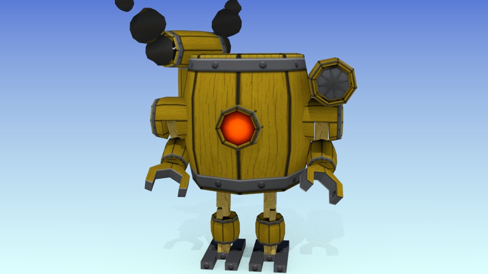 Barrel Bot v3 preview image 1