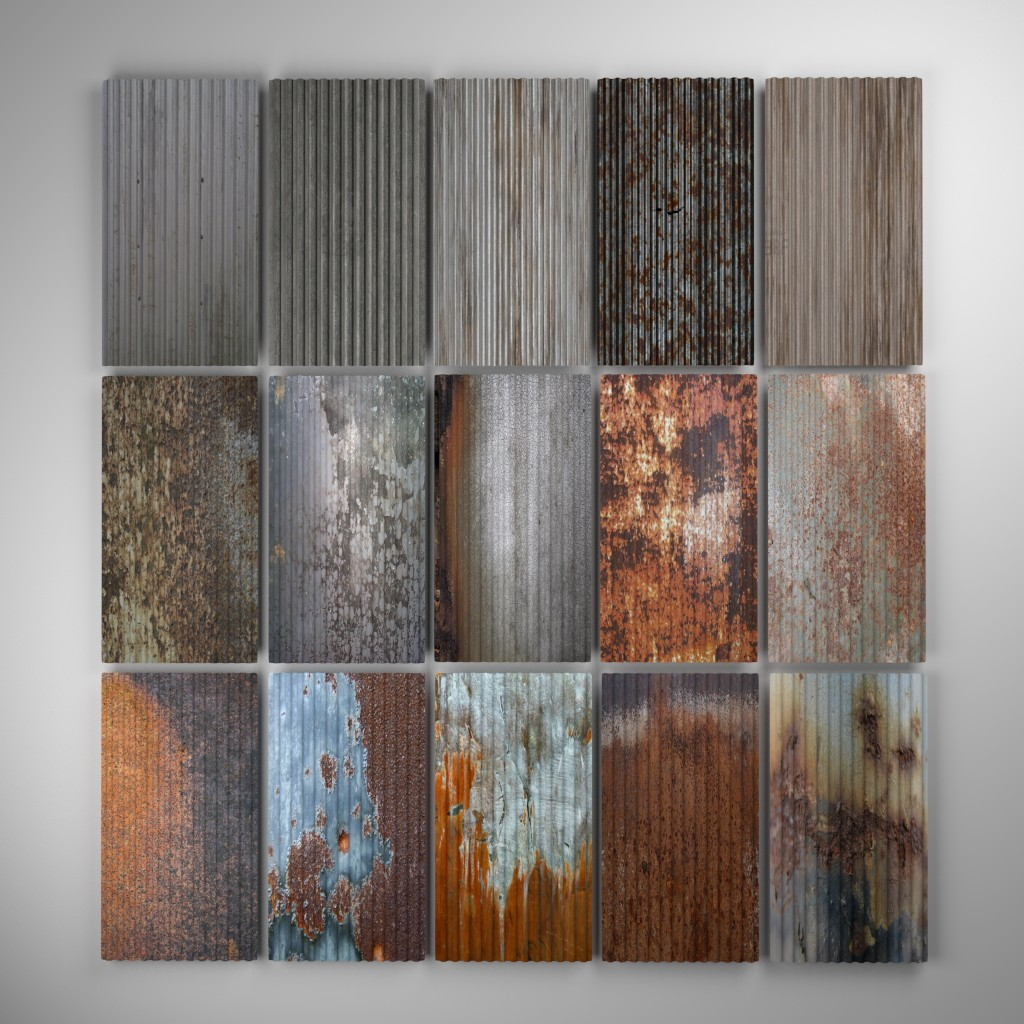 Corrugated Metal pack  preview image 1
