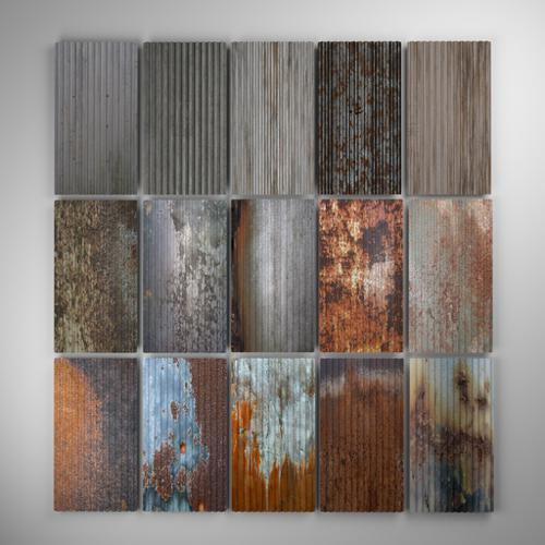 Corrugated Metal pack  preview image