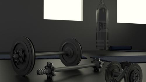 Simple Gym set -cycles preview image