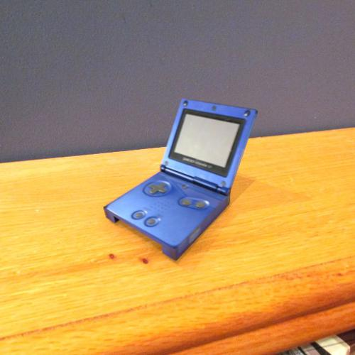 Low Poly GameBoy Advance SP preview image