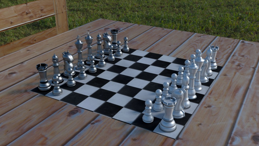 Chess set -cycles preview image 1