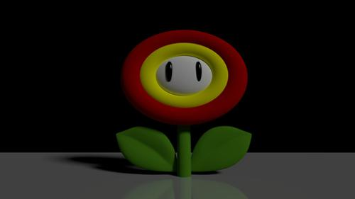 Mario Fire Flower preview image