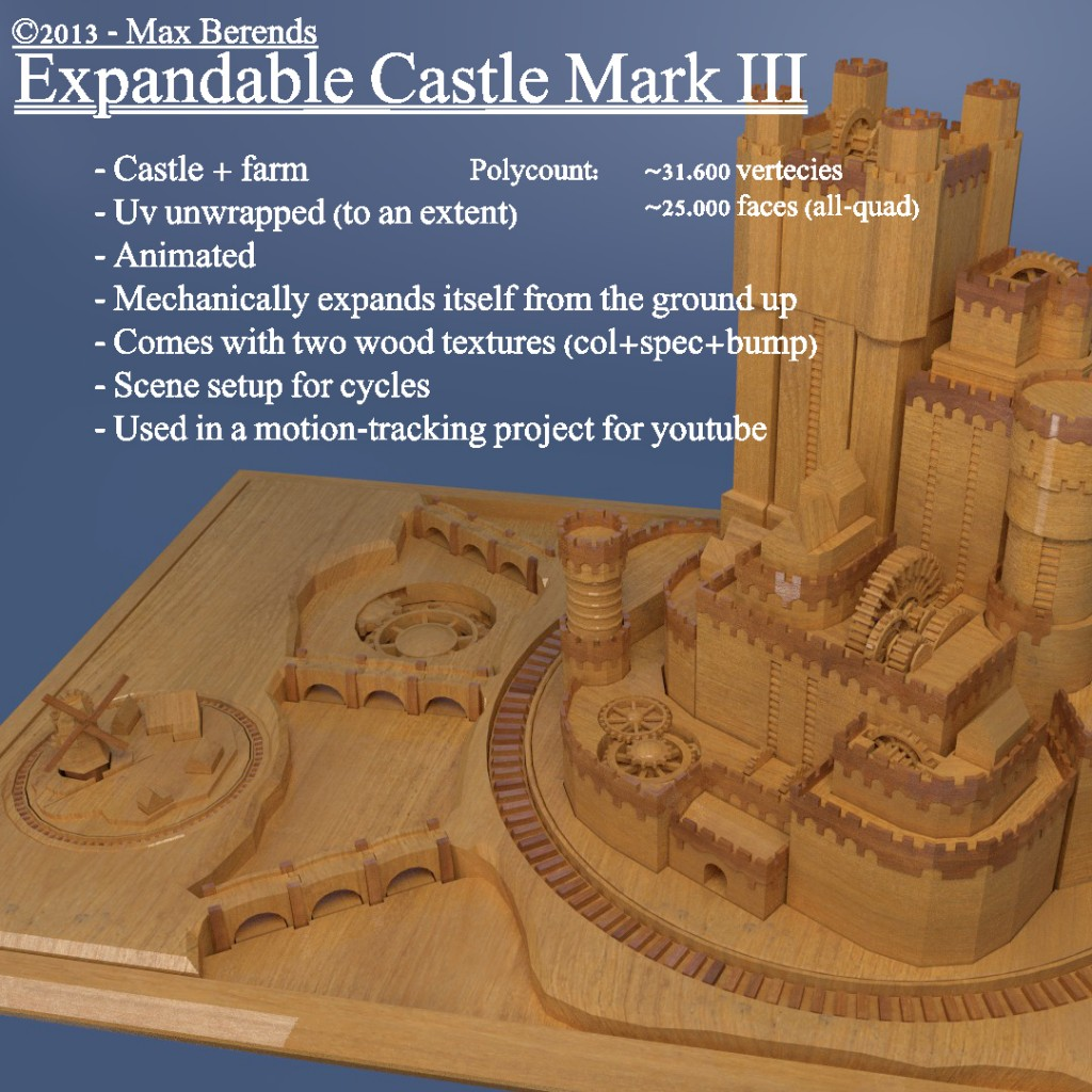 Expandable Castle Mark III preview image 1