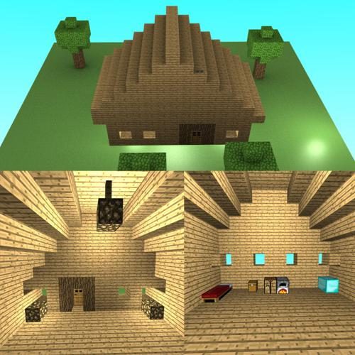 Humble Minecraft House preview image