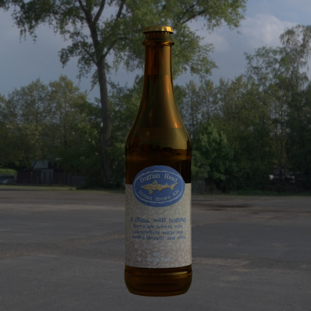 DogFishHead Indian Brown Ale  preview image 1