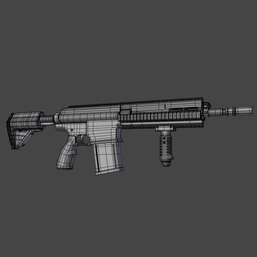Basic Assault Rifle preview image