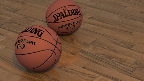 BasketBall scene preview image