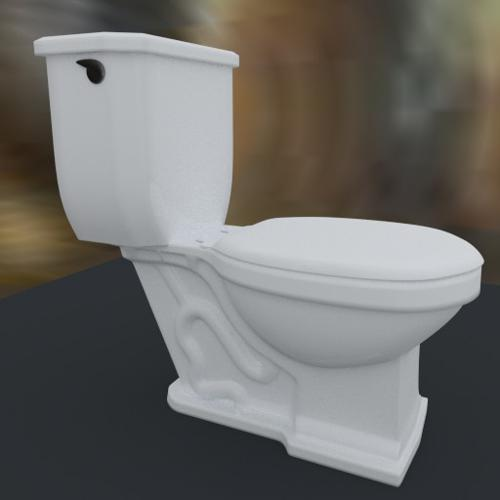 Porcelain Toilet preview image