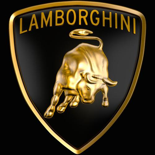 lamborghini logo sculpt preview image