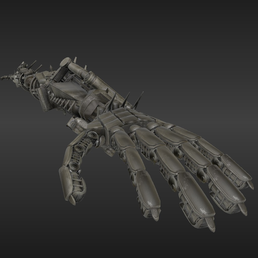 Rigged Robot Arms preview image 3