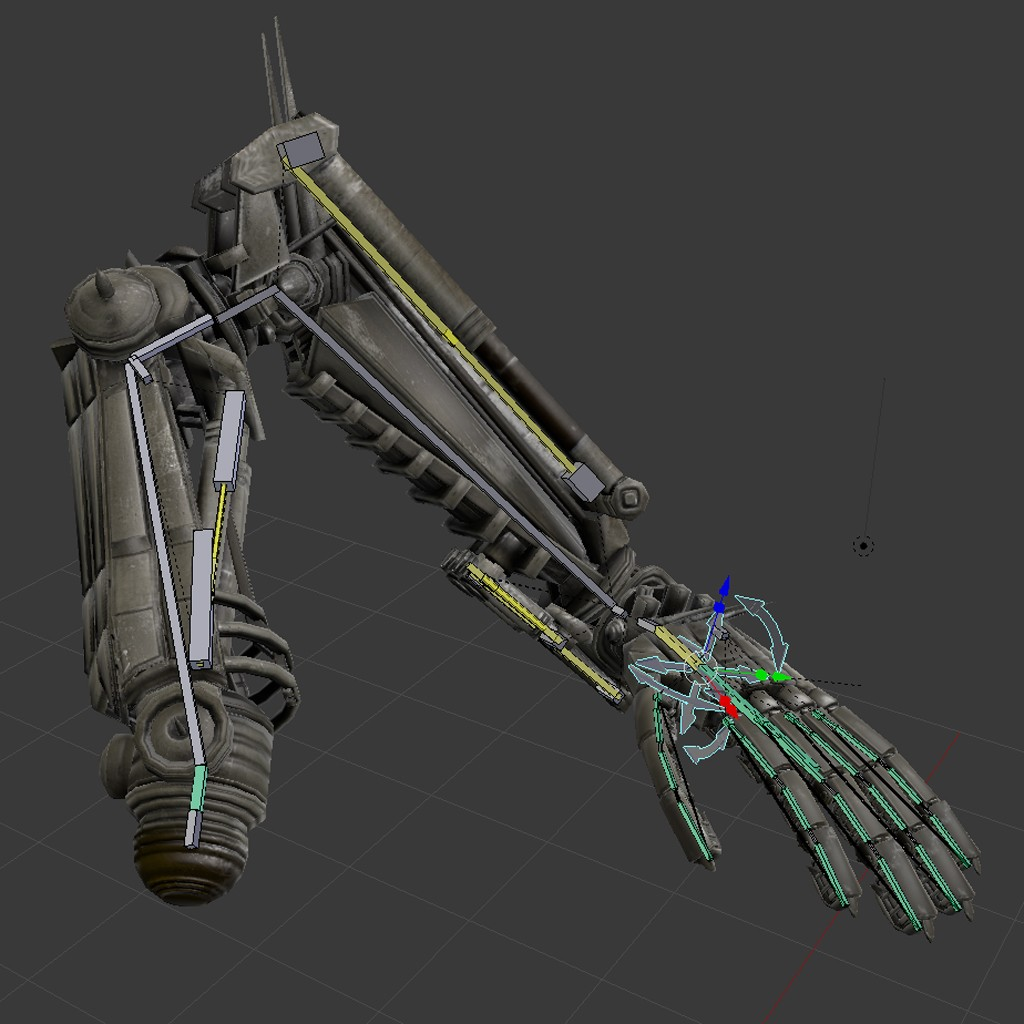 Rigged Robot Arms preview image 4