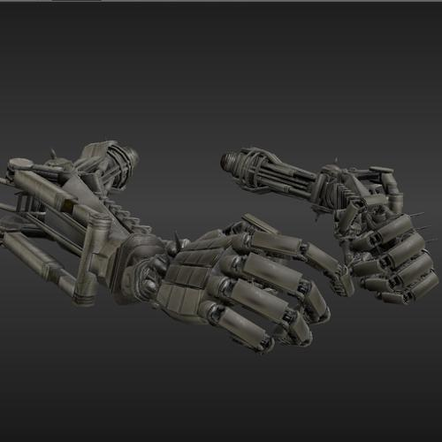 Rigged Robot Arms preview image