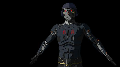 "Cyborg Villain from ""Deadstar"" preview image"