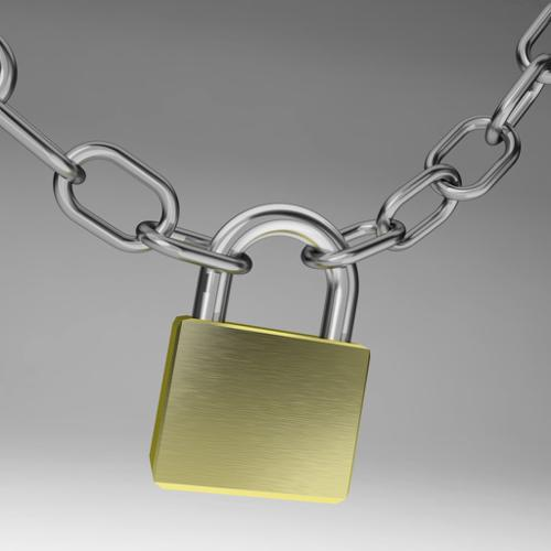 Lock and chains preview image