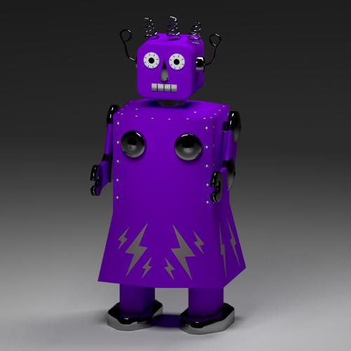 Electra Robot Tin Toy preview image