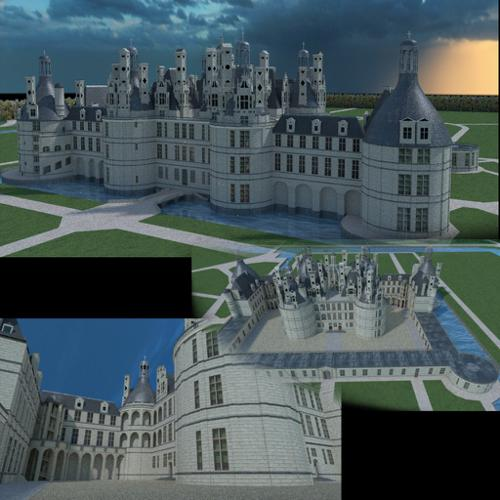 Chambord castel in france preview image