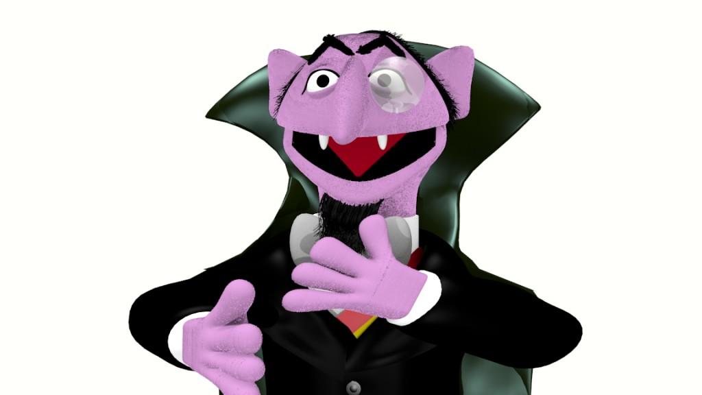 Blend Swap Count Von Count Sesame Street Muppet