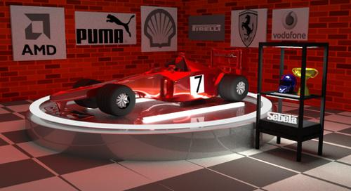 Cycles Formula F1+Garage with posters  preview image