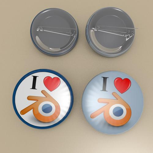 Blender badges preview image