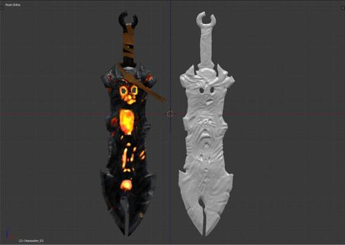 Darksiders: Chaos Eater Lowpoly Model preview image