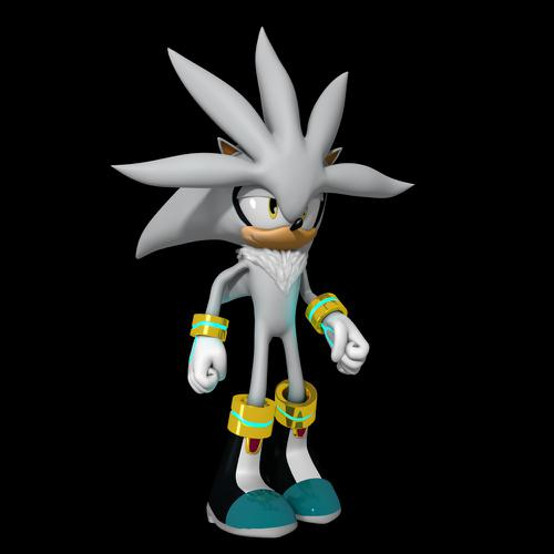Silver the Hedgehog + Complete Rig preview image