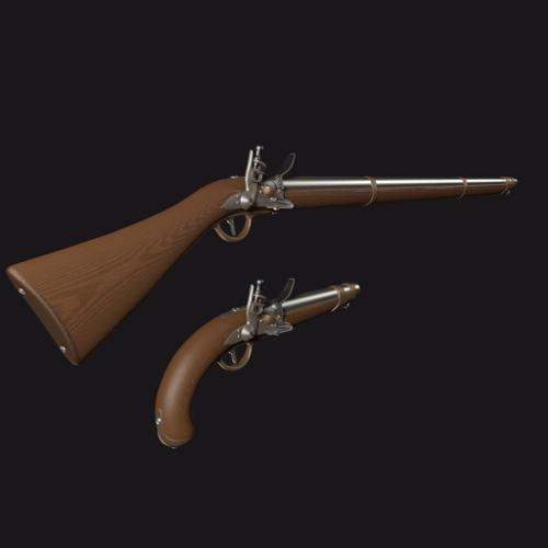 Cheap flintlock guns preview image