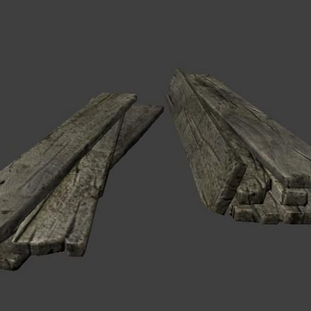 Wooden Planks (LP + LoD) preview image