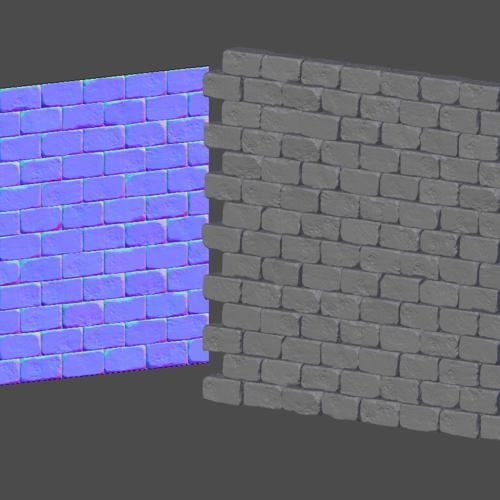 HP Bricks / Bake Tileable Textures preview image