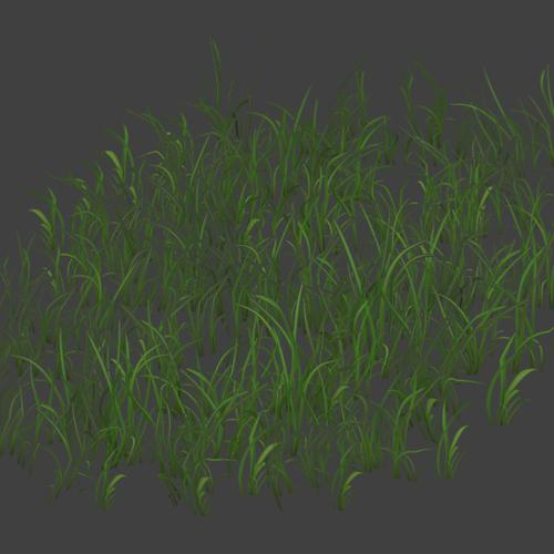 Low Poly Grass Patches (+LoD) preview image