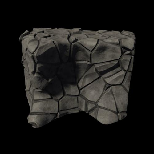 Low Poly Cliff 01 - BGE preview image