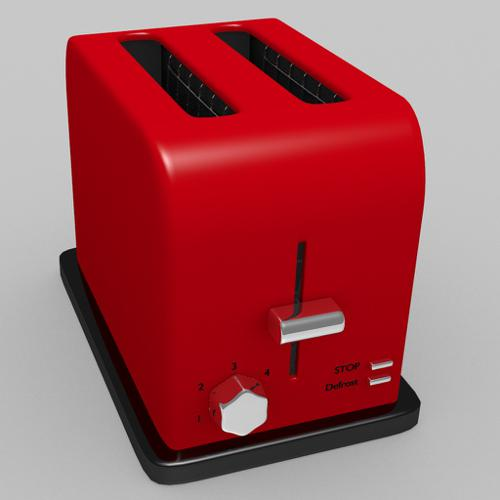 Shiny Red Toaster preview image