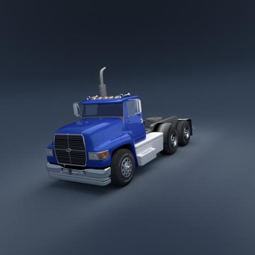 Semi Truck - cab preview image