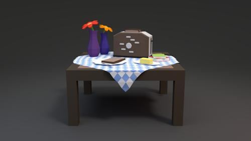 BLENDER Timelapse: Toaster + Turntable preview image