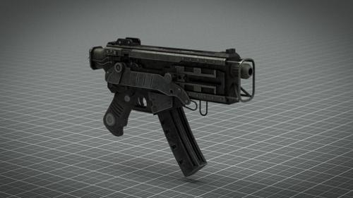 10mm SMG (Fallout) preview image