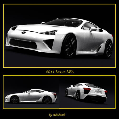 Lexus LFA preview image