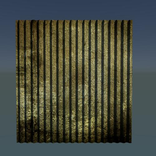 Corrugated Iron Sheet. preview image
