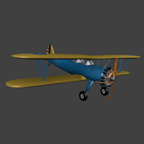 Boeing-Stearman Model PT 17 preview image