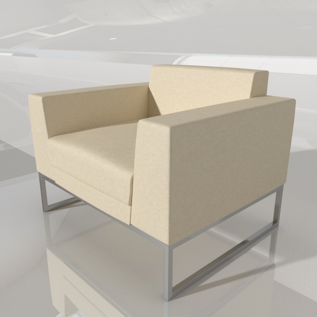 Armchair - cubed-fat preview image 1