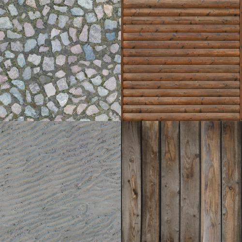 8 Tileable Textures preview image
