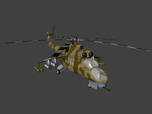 Mil Mi 24 Hind preview image