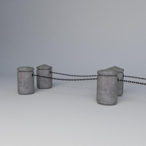 concrete piles preview image