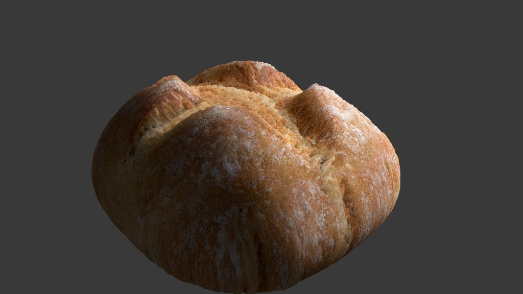 Photorealistic Bread (Organic SSS Cycles Food) preview image 1