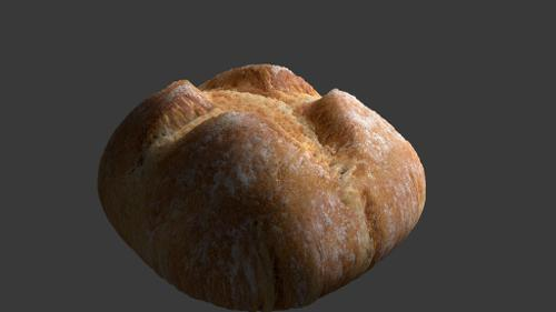 Photorealistic Bread (Organic SSS Cycles Food) preview image
