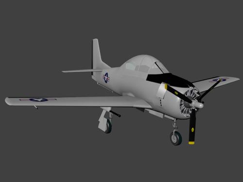 North American T-28 Trojan preview image