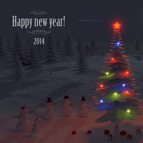 2014 newyear forest preview image