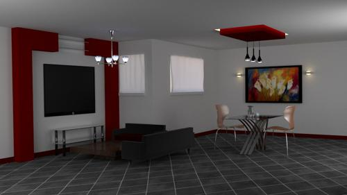 Living Room Scene preview image