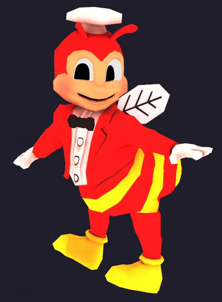 Jollibee Lowpoly preview image 1