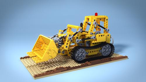 Lego 856 Bulldozer preview image
